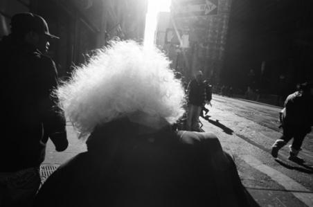 Broadway White Hair