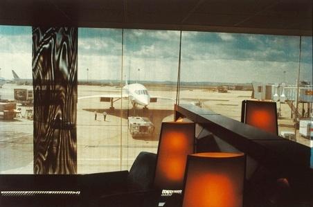 Concorde attente . CDG . été 1999