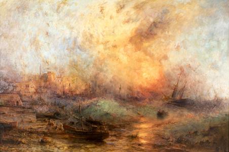 Fiery Sea