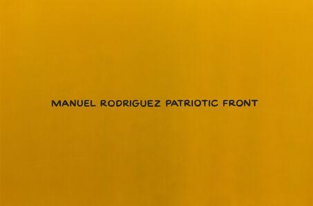 Manuel Rodrquez Patriotic Front (from the series Divine Violence)