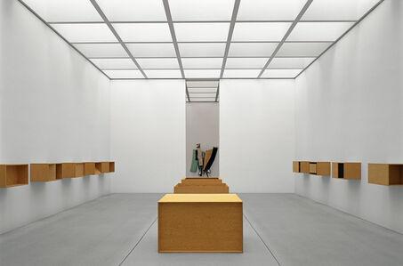 Pinakothek der Moderne, München, Donald-Judd-Installation