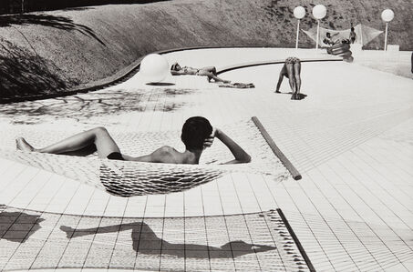 Swimming Pool Designed by Alain Capeilleres, La Brusc, South of France