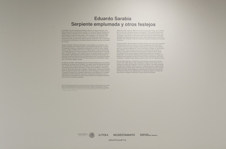 Special Project: Eduardo Sarabia. Celebrations and Other Feathered Serpent