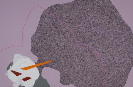 Urban histology-pink line