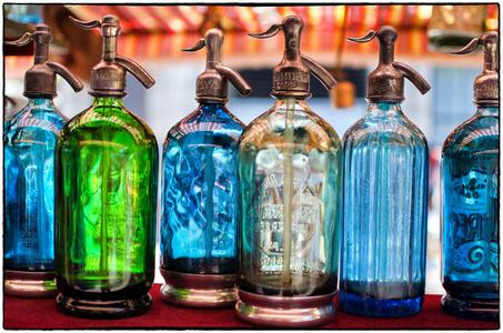 Buenos Aires Seltzer Bottles