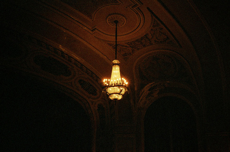 One Chandelier, the Orpheum, Madison, WI
