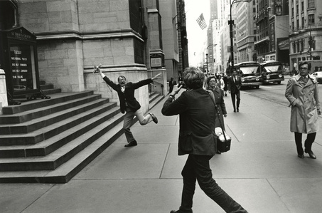 Garry Winogrand and John Szarkowski, New York City