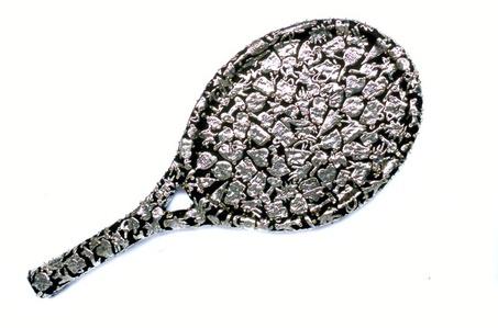 Female Fetish: Tennis Racket