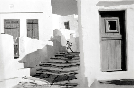 Siphnos, Greece (Girl on Stairs)