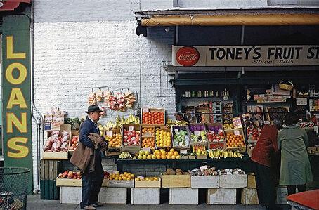 Fruitstand, Sidewalk, Memphis, Tennessee