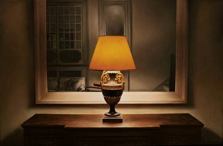 Park Avenue Lobby Lamp (Annunciation)