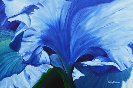 Heart of the Blue Iris