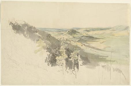 Hilly Landscape with Landsberg Castle