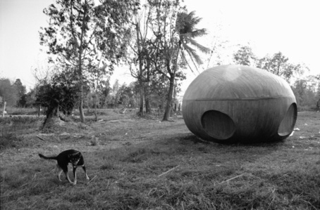 Spaceship with Dog, Nabua, 2008