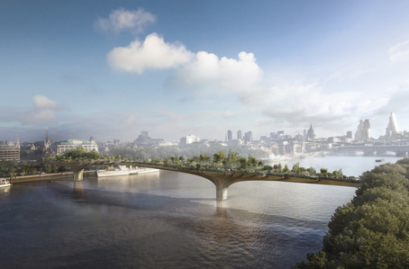 Garden Bridge, London