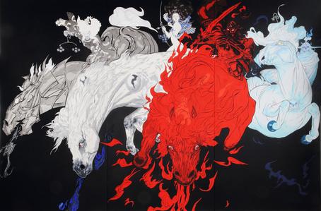 Quatre Chevaux / Four Horses