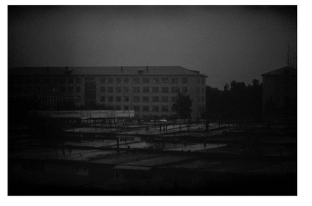 Dawn, Berlin-Moskau Express Train, Belarus- Documentation images from the Chernobyl Project (2007-2010)