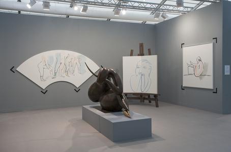 kamel mennour at Frieze London 2015