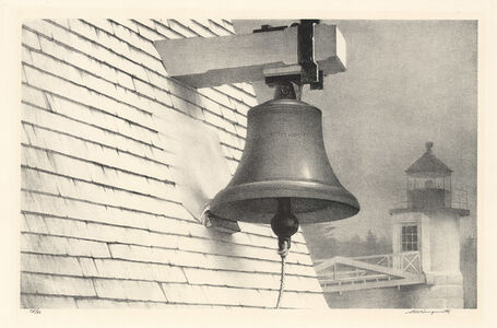 The Fog Bell.  Port Clyde, Maine.]