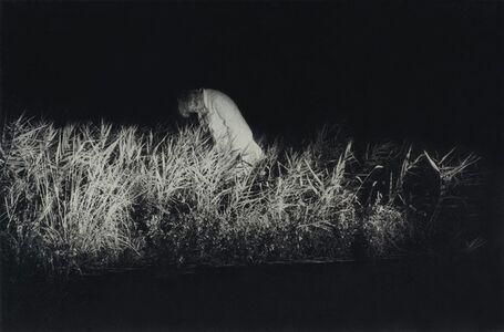 Man in the Night Field