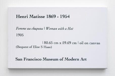 LCM, Matisse, Femme au chapeau | Women with a Hat, 1905
