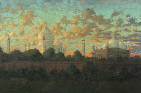 Early Evening Taj Mahal