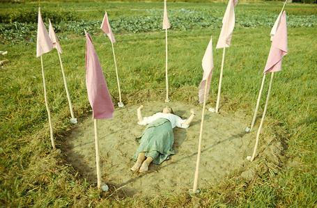 Praying for Rain, Prądnik estate, Kraków, summer 1977