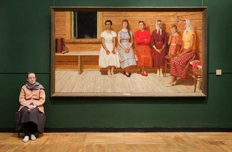 Guardians: Kugach's Before the Dance, State Tretyakov Gallery