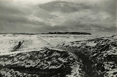 A Farm Village in Winter