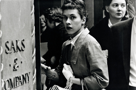 Surprised Woman at Saks, New York City