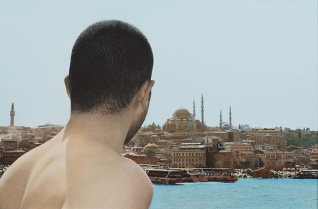 Self portrait, Istanbul