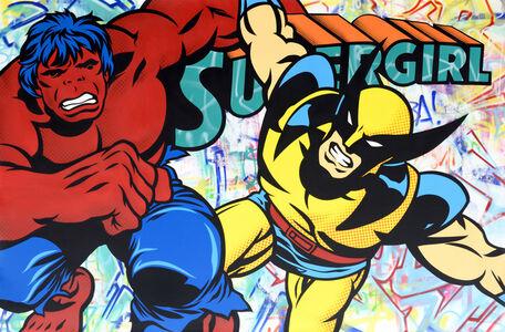 Red Hulk Wolverine