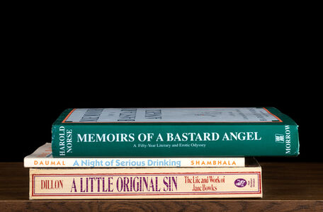 "Memoirs of a Bastard Angel from ""Kansas Cut-Up"" (""Sorted Books"" project, 1993--ongoing)"