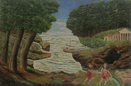 Ulysse réclamant à Circé ses compagnons changés en pourceaux