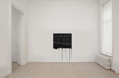 Mel Bochner - Language Is Not Transparent