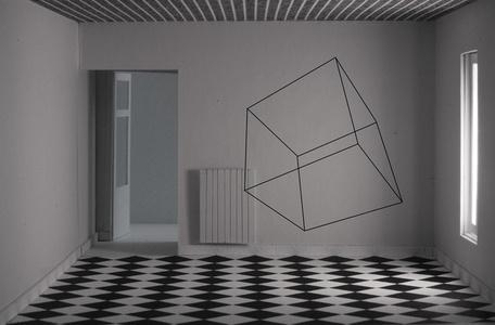 Cubo en caja