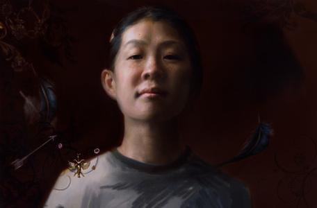 Self Portrait, Taking Flight