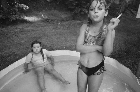 Amanda and Her Cousin Amy Valdese, North Carolina