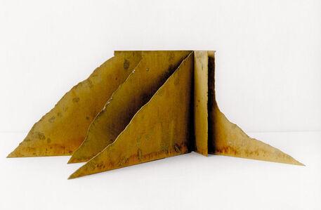 Modell für eine Skulptur aus Corten-Stahl