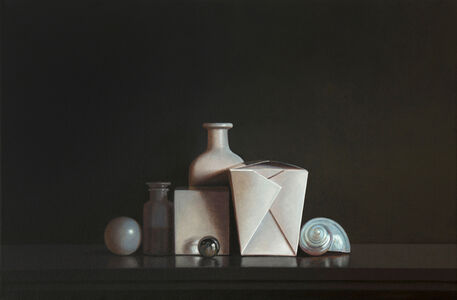 Still Life with Glass Marble