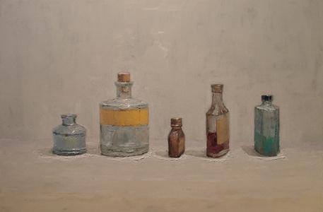Glass, Paper, Cork