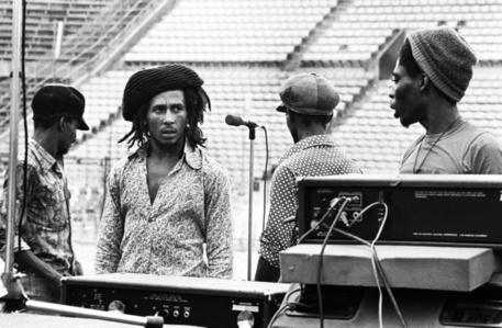 Bob Marley Dream Concert Rehearsal