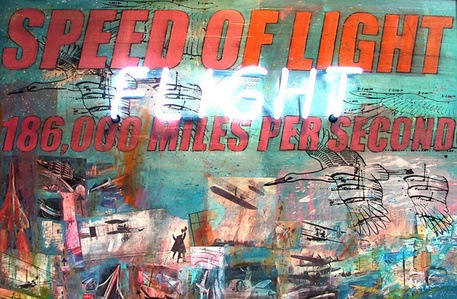 Flight - Speed of Light (The sale of this piece  benefits the nonprofit Zenith Community Arts Foundation)