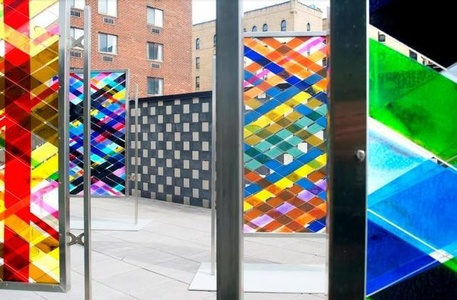 installation view, Intersections