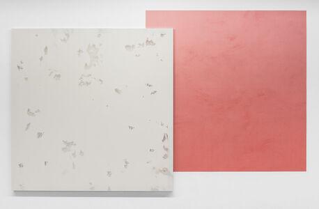 """""""Écran/Collage #4 (gris Scorpion-rouge Atika)"""""""