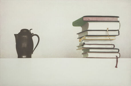 kettle and books