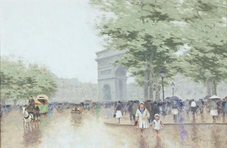 Arc De Triomphe, Champs Elysees