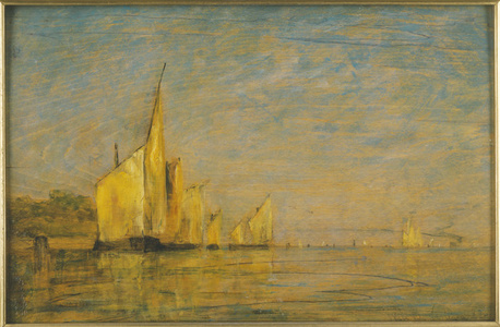 A Group of Boats, Venice
