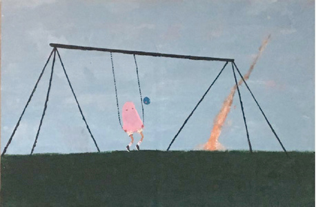 Falling Asleep on Swings
