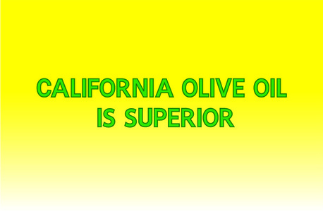 Banner (California Olive Oil is Superior)